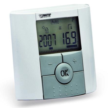 Термостат комнатный с ЖК дисплеем программируемый BTDP Watts