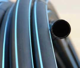 Труба полиэтиленовая для водоснабжения 50×3 ПЭ-100 SDR 17 (1,0 МПа) 100 м