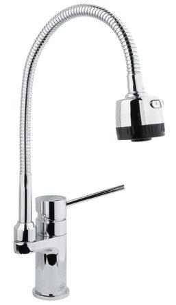 2308 Смеситель для кухни (гибкий нос) Saona 2308 F