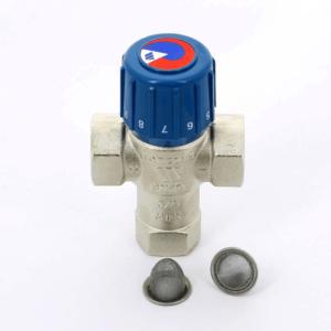 Термостатический трехходовой смеситель AQUAMIX 63C для теплого пола