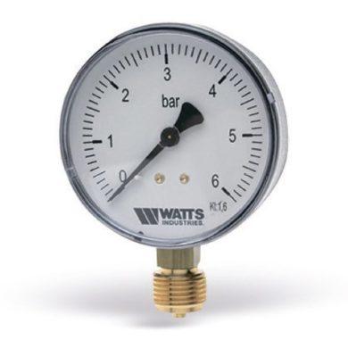 """Манометр радиальный F+R200 G1/4"""" 63мм (0- 6bar) Watts"""