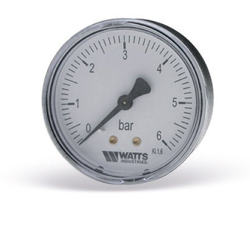 "Манометр аксиальный F+R100 G1/4"" 63мм (0-10bar) Watts"
