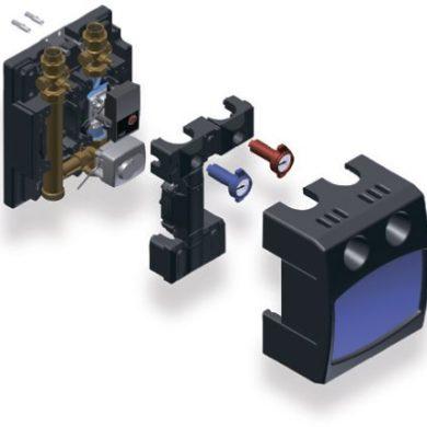 Насосный модуль PASM25 без насоса, Kvs 6,3, с сервоприводом Watts