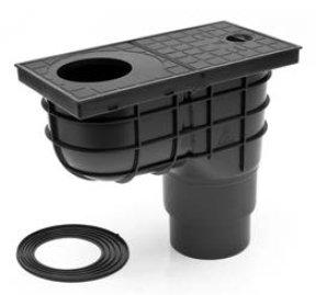 Сток для дождевой и крышевой воды KV110/125-стандарт