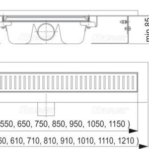 APZ1- 300 Водоотводящий желоб