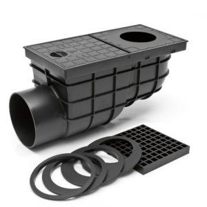 Сток боковой для дождевой и крышевой воды KV110B