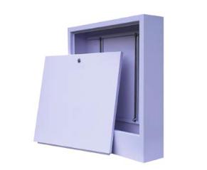Шкаф коллекторный металл. наруж. 590х1118х110 (16 контуров)