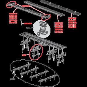 APZ8-750 Водоотводящий желоб с решеткой (комплект)