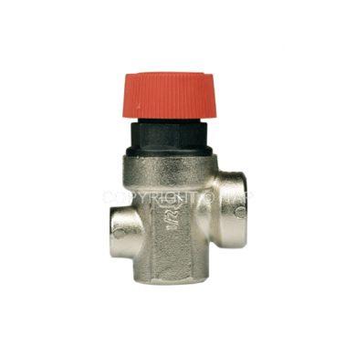 """Предохранительный клапан 1/2"""" 3,0bar (368М) с выходом для манометра Itap"""