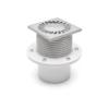PV110N-L2 110 нерж прямой регулир 122х122 с фартуком