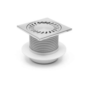 PV50N-L4 50 нерж прямой регулир 150х150 с фартуком