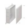 Шкаф коллекторный пластиковый 800х400х95 (Itap)