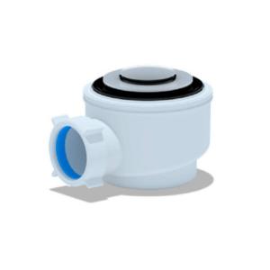 Сифон для душ. поддона 1 1_2″х50_60 клик-клак хром АНИ Пласт
