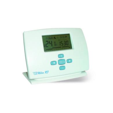 Термостат комнатный проводной с ЖК дисплеем MILUX Weekly