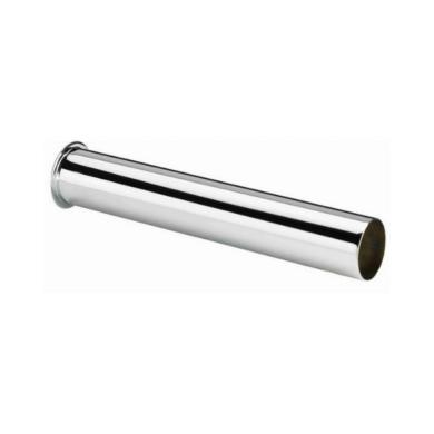 Трубка ХРОМ (с буртом) для сифона