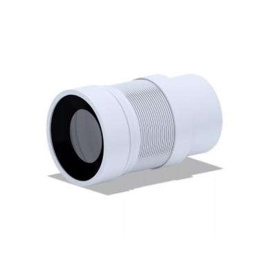 Удлинитель (ГОФРА) гибкий для унитаза (212-320 мм пластик) АНИ Пласт