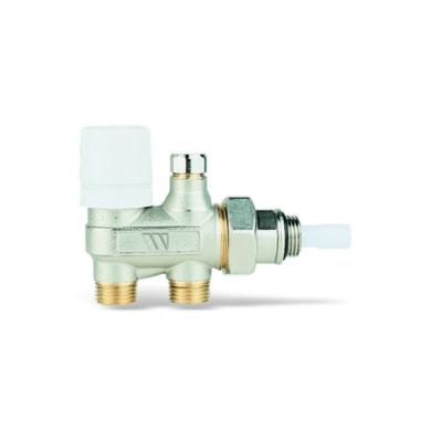 Вентиль терморегулируемый четырехходовой (для термоголовки и приводов 22C) Watts