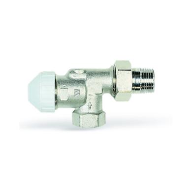 Вентиль терморегулируемый угловой, горизонтальный TVE-S12 12 Watts