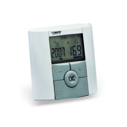 Термостат комнатный проводной с ЖК дисплеем программируемый BTDP Watts
