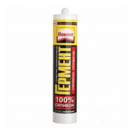 Герметик Момент Гермент 280 мл силик.универс.ПРЕМИУМ (белый)