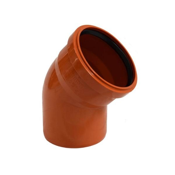 Отвод DN 160_45 СИНИКОН НПВХ