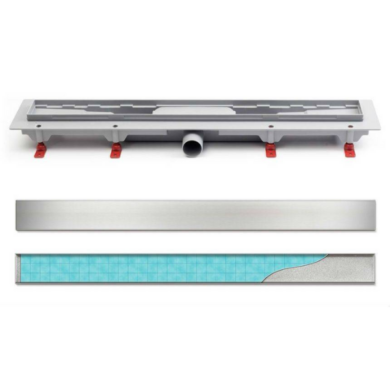 Водоотводящий желоб L350 с решеткой Floor_Klasic