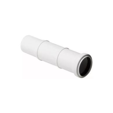 Компенсационный патрубок 110 Stilte белый