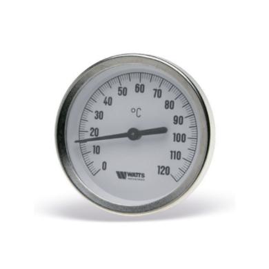 Термометр биметаллический с погружной гильзой F+R801