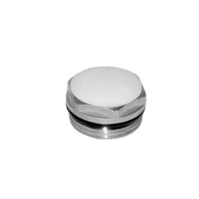Заглушка G 1_2″, латунь никелированная RU-BS