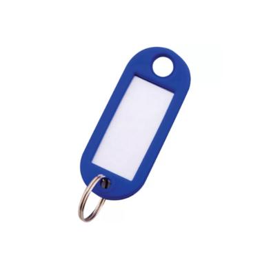 Бирка для ключей (цвет синий)