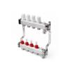 Коллекторный блок с расходомерами 8 выходов, 480 мм, 1 x 3_4_PRO AQUA INSOLOINOX