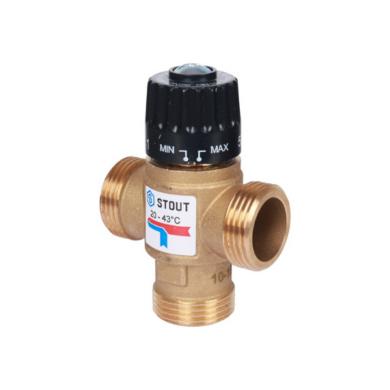 Термосмесительный клапан STOUT