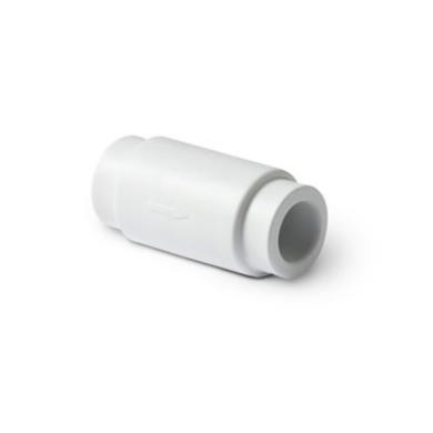 PP-R Обратный клапан ПРО АКВА (белый цвет)